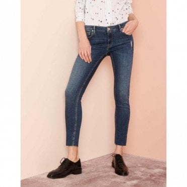 Lily Skinny Jeans in Denim V-52